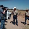 Deputies of the Hudspeth County Sheriff's Department patrol the volatile U.S. Mexico border.