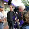 Street interviews with Morgan Spurlock for his 30 days show.