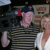 Entertainment Tonight shoot with the exceptionally lovely Mary Hart.